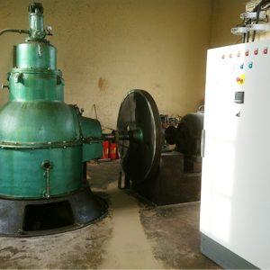 Turbine et armoire électrique