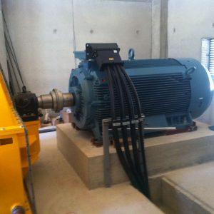 Cablâge de génératrice 600kw