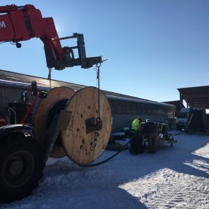 Enrubannage cable HTA