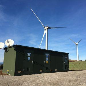 Poste de livraison éolien